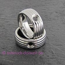 - NEUHEIT - MelanO Vivid -  Ring Vera - Edelstahl - Gr. 55