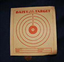 Vintage Rare Original Daisy Bb Air Rifle Target 1950's Red