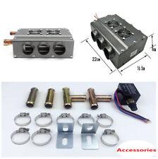 12V 6 Ports Universal Double Side Car Vehicle Heater Heat Fan Mounting Brackets