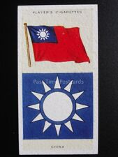 No.10 CHINA - National Flags and Arms - Players 1936