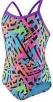 NWT Speedo Women's Swimsuit One Piece ProLT Propel Back Printed Multi Size 8/34