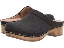 Dansko Bethann Charcoal Wool Mule - NEW - Choose Size