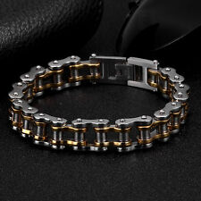 AgentX Men's Wristband Bracelet Stainless Steel Fashion Military Jewelry+Bag