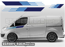 Ford Transit CUSTOM 020A M-SPORT Style stripes graphics stickers decals