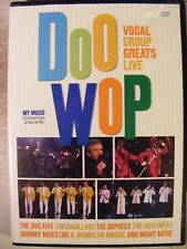 Doo Wop: Vocal Group Greats Live (DVD, 2006)