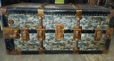 Vintage NEVERBREAK Wardrobe Trunk USA