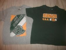Lot of 2 Toddler Boy's Size 3T Anchorage Alaska Seawolves shirts (B20)