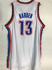 Adidas Swingman NBA Jersey Oklahoma City Thunder James Harden White sz 2X