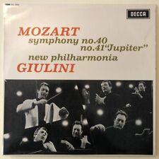 "SXL 6225 Mozart Symphonies Nos. 40 & 41 ""Jupiter"" / Giulini / New Philharmoni..."