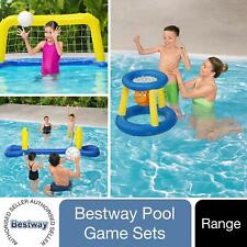 More details for bestway basketball, polo or volleyball water inflatable swimming pool games set