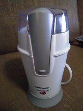 Black & Decker Home Coffee Bean Grinder CBG100W White