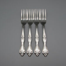 SET OF FOUR - Oneida Stainless CANTATA Dinner Forks * COMMUNITY