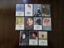 Barbra Streisand Cassette Tape LOT Of 11