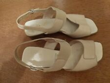 Jenny by ara - Sandaletten Sandalen Größe 4 1/2 Weite H  EUR 37,5 Hellbeige