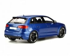 1:18 GT Spirit AUDI RS3 2015 bleu blue metallic GT748 NEU NEW