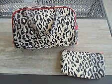 Make-up Fashion Cosmetic Bag Set Animal Print