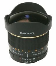 Samyang 8mm f3.5 IF MC Fisheye Lens for Canon