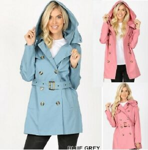 Details about  /NEW WITH TAGS NOLITA BY ANGIE TRENCH COAT STYLE JACKETS WOMENS JUNIORS S M L
