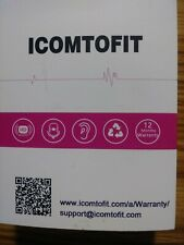 ICOMTOFIT G3 Bluetooth Headset Wireless Bluetooth  New no phone in hand Law