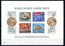 DDR: BLOCK 9B Marx postfrisch. Mi: 100,-