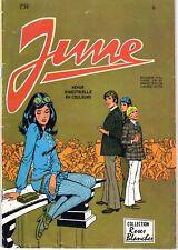 JUNE  NUMERO 5 (GRAND FORMAT COULEUR) AREDIT 1971