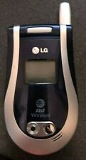 LG L1150 Silver (AT&T) Cellular Phone Shipping Vintage Excellent Used Collector