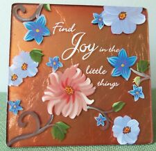 """Pavilion Gifts FRIENDSHIP PLAQUE Hand Painted - 'We Love"""" Collection #71508"""