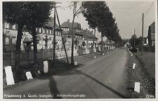 AK Schlesien Friedeberg Queis Hindenburgstraße Mirsk Polen 1934