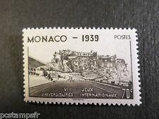 MONACO 1939, timbre 196, SPORT STADE LOUIS II, neuf**, VF MNH STAMP STADIUM