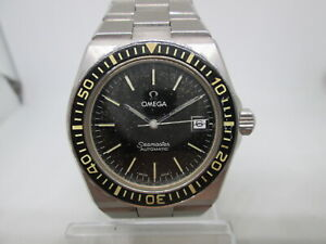 RARE OMEGA SEAMASTER BABY PLOPROF REF#1660251 CAL.1012 AUTOMATIC MENS DIVERWATCH