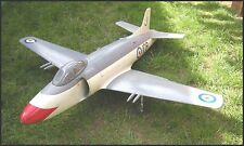 RC Plans Model SUPERMARINE ATTACKER Electric Ducted Fan Jet fugal build