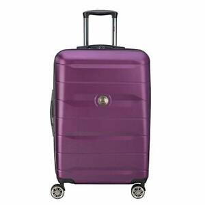 DELSEY Paris Comete 2.0 Hardside Expandable Luggage with Spinner Wheels Purpl...