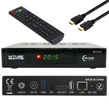 HiTube 4K UHD DVB-S2X + DVB-T2/C  IPTV,  CA, WIFI,LAN  Linux E2 Combo Receiver