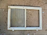 Altes Holzfenster Sprossenfenster Rahmen Bilderrahmen Biedermeier 50 x 34 x 3