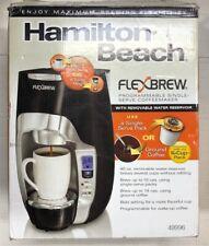 Hamilton Beach 49996 FlexBrew Programmable Single-Serve Coffeemaker, Black
