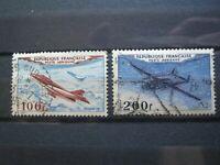 FRANCE Lot Timbres POSTE Aérienne N°30 Mystère IV -31 Noratlas de 1954