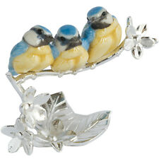 Natures Realm 1501 Blue Tit Chicks Bird Figurine
