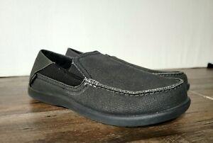 Crocs Santa Cruz II Mens Black Shoes Sz 8m