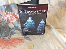 GIUSEPPE VERDI IL Trovatore OPERA AUSTRALIA Opera CHORUS Elizabethan SYDNEY DVD
