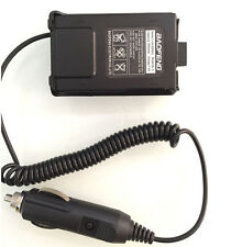 12V Car Charger Battery Adapter Eliminator For Baofeng UV5R Plus two way Radio K