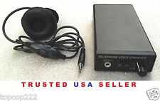 TELEPHONE DIGITAL VOICE CHANGER - 16 LEVELS. SHIPPED QUICKLY FROM THE U.S.A.