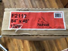 "Nuheat Electric Floor Heating Systems F2112 84""x48"" 120V"