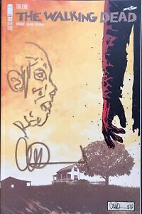 THE WALKING DEAD #193 w/ALPHA REMARQUE & SIGNED BY CHARLIE ADLARD 2ND PRINT