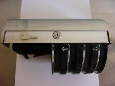 1 CWS  Toilettenpapierhalter 764, Edelstahl, Toilettenpapierspender, Wandhalter