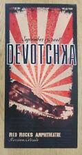 DEVOTCHKA RED ROCKS 2008 DENVER ORIGINAL CONCERT POSTER