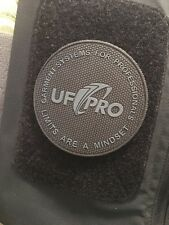 UF PRO Tactical patch PVC Grey on Black