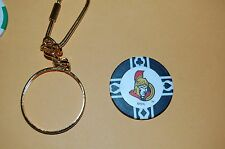 Ottawa Senators Poker Chip & Keychain Hockey