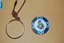 Ottawa Senators Poker Chip & Keychain Hockey