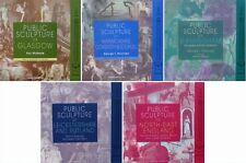 5 LIVRE/BOOKS : SCULPTURE PUBLIQUE DE GRAND BRETAGNE (antique statue bronze ..