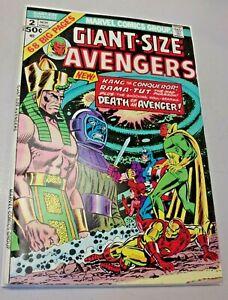 Giant-Size Avengers #2-1974 Kang Appearance Rama-Tut Origins, Death of Swordsman
